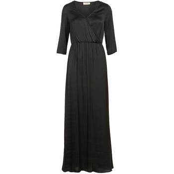 Robes longues Naf Naf X-MAYOU Noir - Livraison Gratuite avec Spartoo