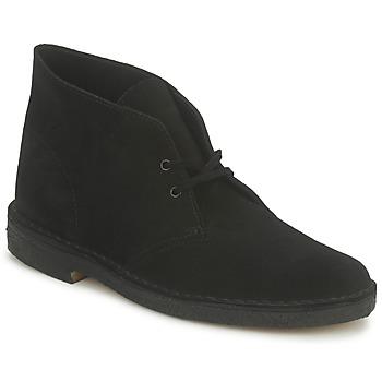 Boots / Chaussures montantes Clarks DESERT BOOT Noir 350x350