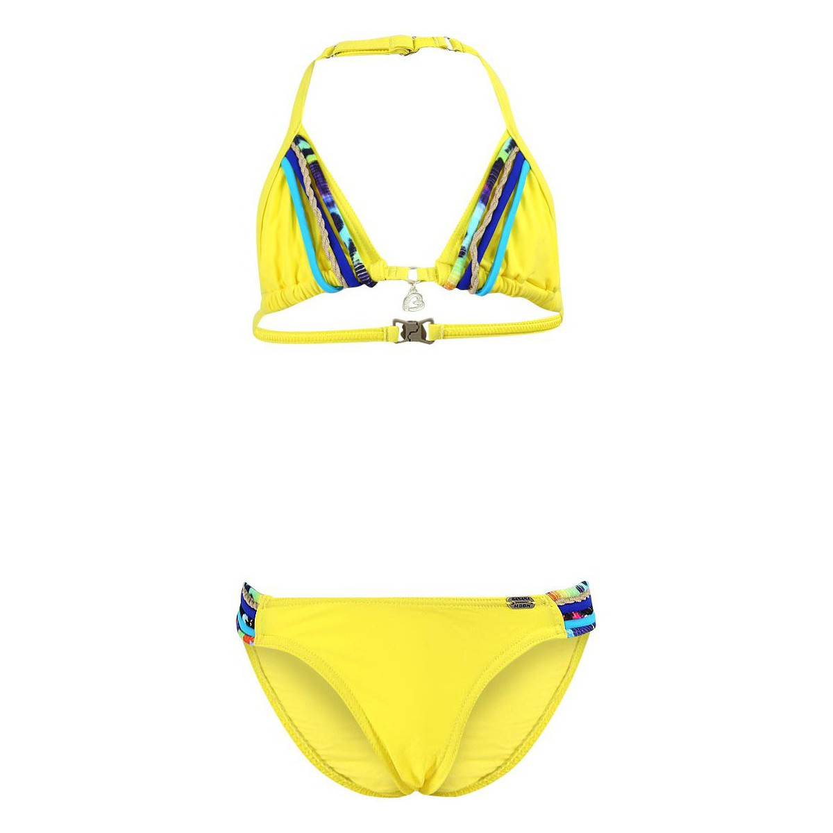maillots de bain 2 pi ces banana moon maillot de bain enfant 2 pi ces spring mumba jaune jaune. Black Bedroom Furniture Sets. Home Design Ideas