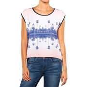 T-shirts manches courtes Le Temps des Cerises T Shirt  Palmirror dark indigo