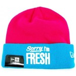 Bonnets New Era Bonnet New Era Sorry Im Fresh Rose - Turquoise
