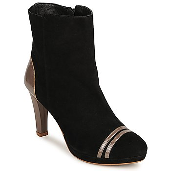 Bottines / Low boots C.Petula KIMBER Noir 350x350