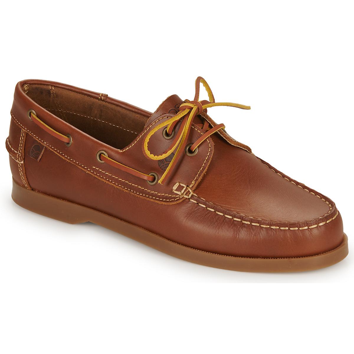 chaussures bateau casual attitude revoro marron livraison gratuite avec. Black Bedroom Furniture Sets. Home Design Ideas