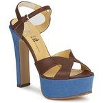 Sandales et Nu-pieds Keyté CUBA-LUX-MARRONE-FLY-9