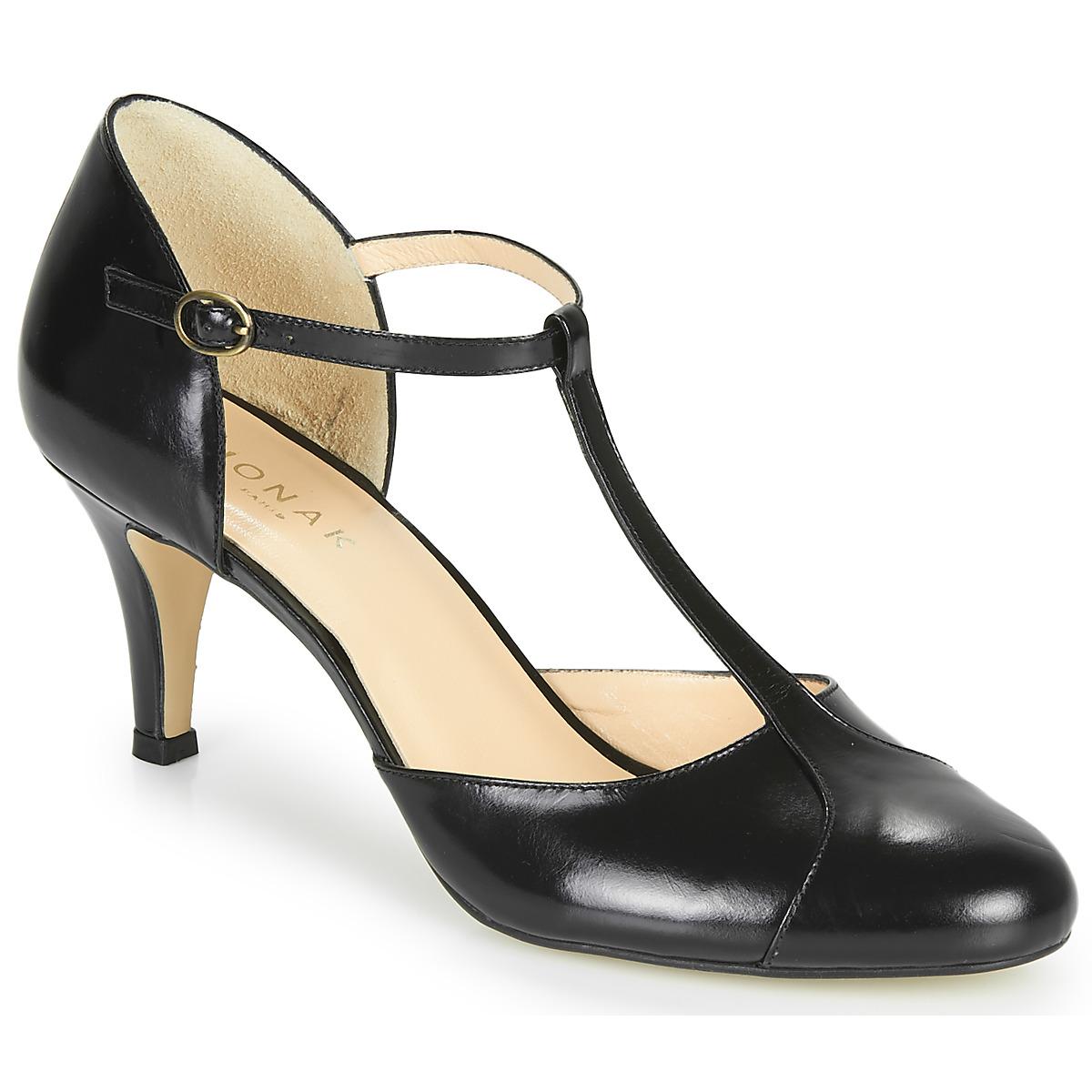 escarpins jonak bloutou noir livraison gratuite avec chaussures femme 62 30. Black Bedroom Furniture Sets. Home Design Ideas