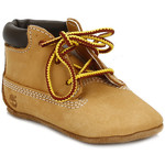 Boots Timberland Baby Wheat Crib Booties with Hat