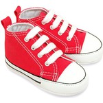 Premiers pas Converse first star rouge