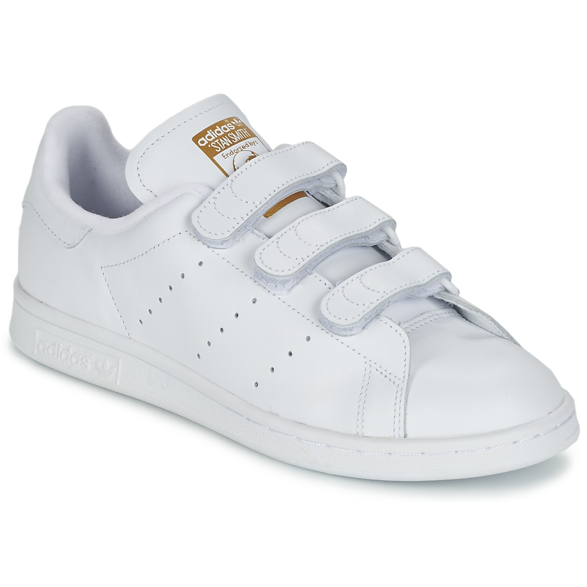baskets basses adidas originals stan smith cf blanc livraison gratuite avec. Black Bedroom Furniture Sets. Home Design Ideas