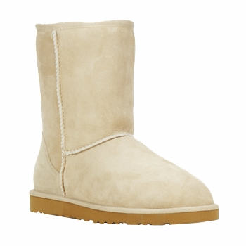 Boots / Chaussures montantes UGG CLASSIC SHORT Sand 350x350