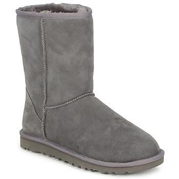 Boots / Chaussures montantes UGG CLASSIC SHORT Grey 350x350