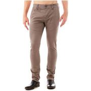 Pantalons 5 poches Guess Pantalon Daniel Superskinny Beige