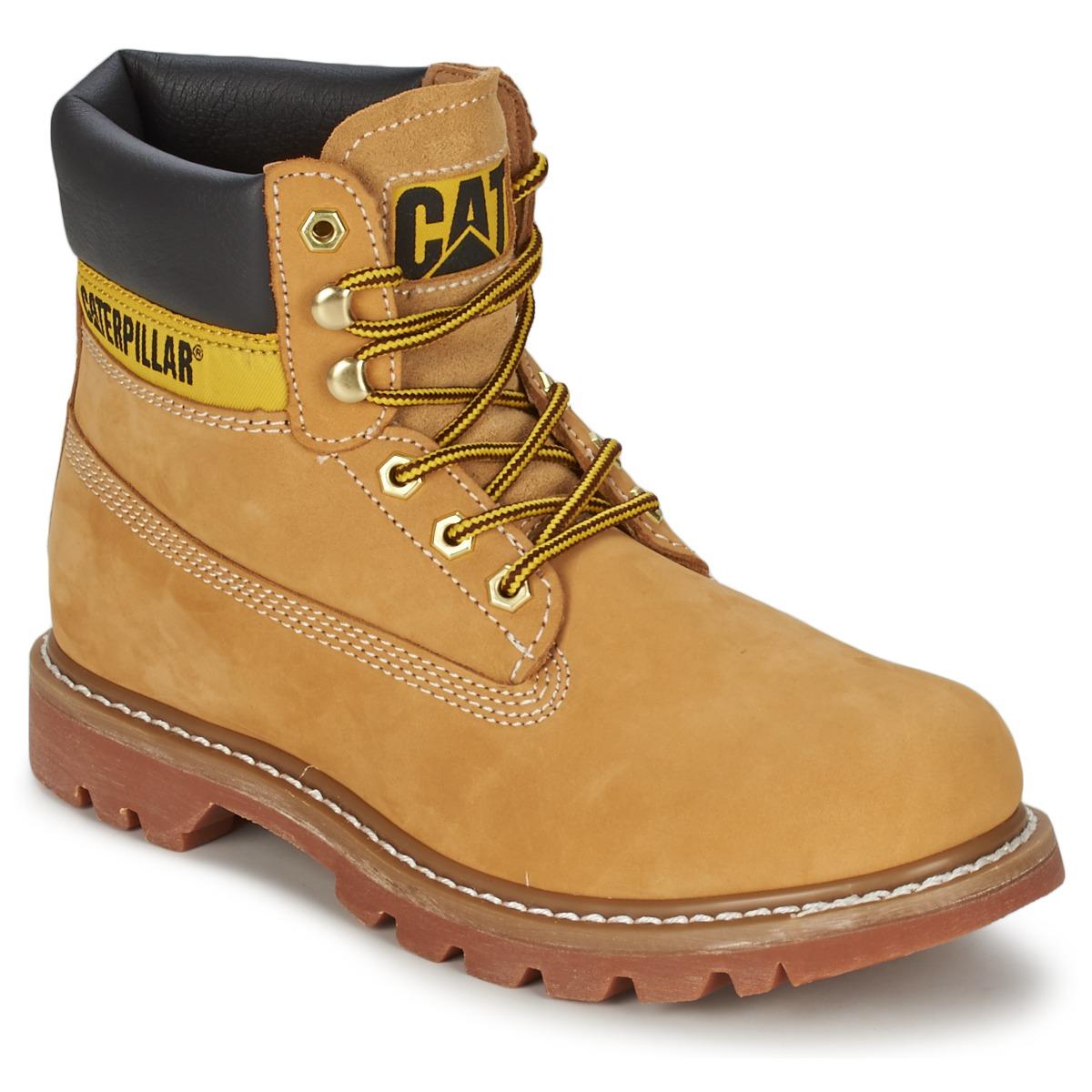 Boots caterpillar colorado miel livraison gratuite avec chaussures femme 111 92 - Chaussure homme caterpillar ...