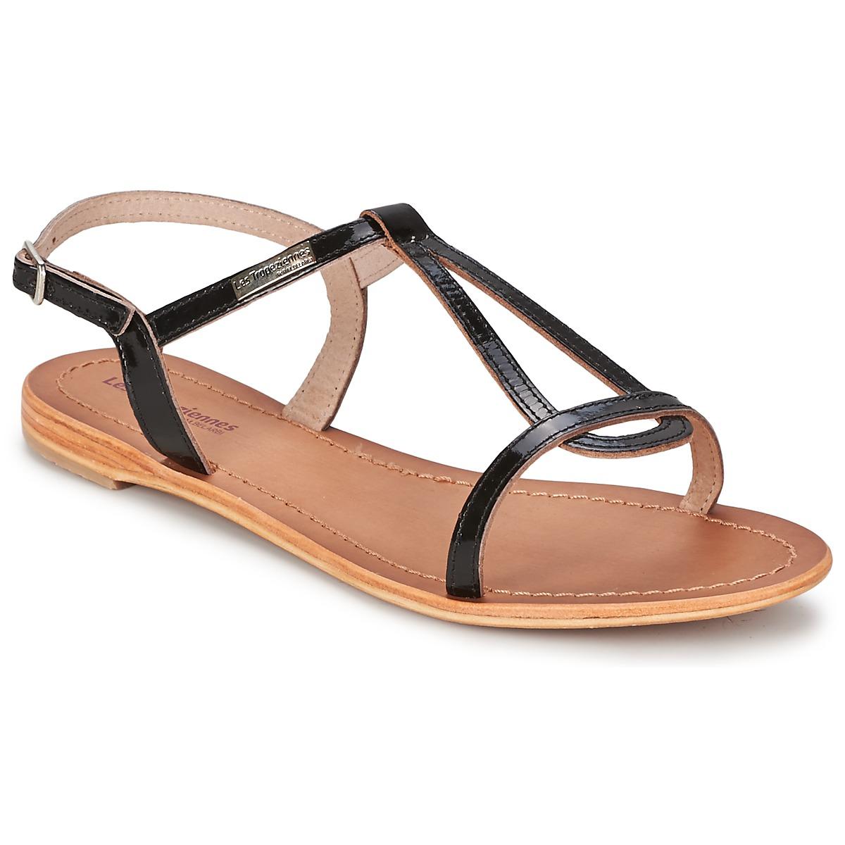 sandale les trop ziennes par m belarbi hamess noir livraison gratuite avec. Black Bedroom Furniture Sets. Home Design Ideas