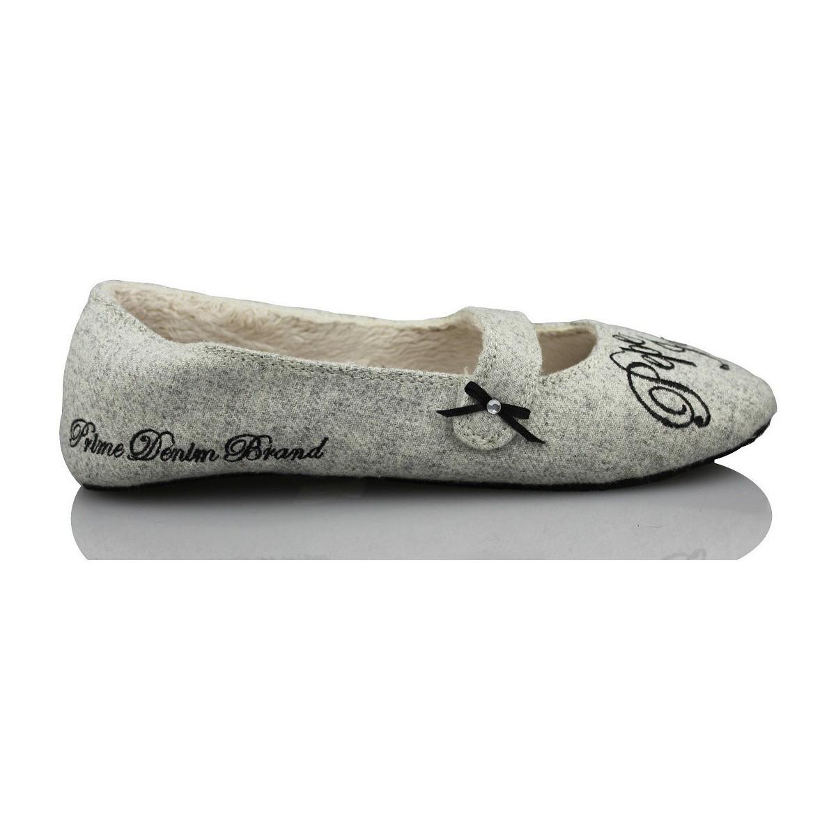 chaussons pepe jeans rentrer la maison confortable gris chaussures femme 39 00. Black Bedroom Furniture Sets. Home Design Ideas