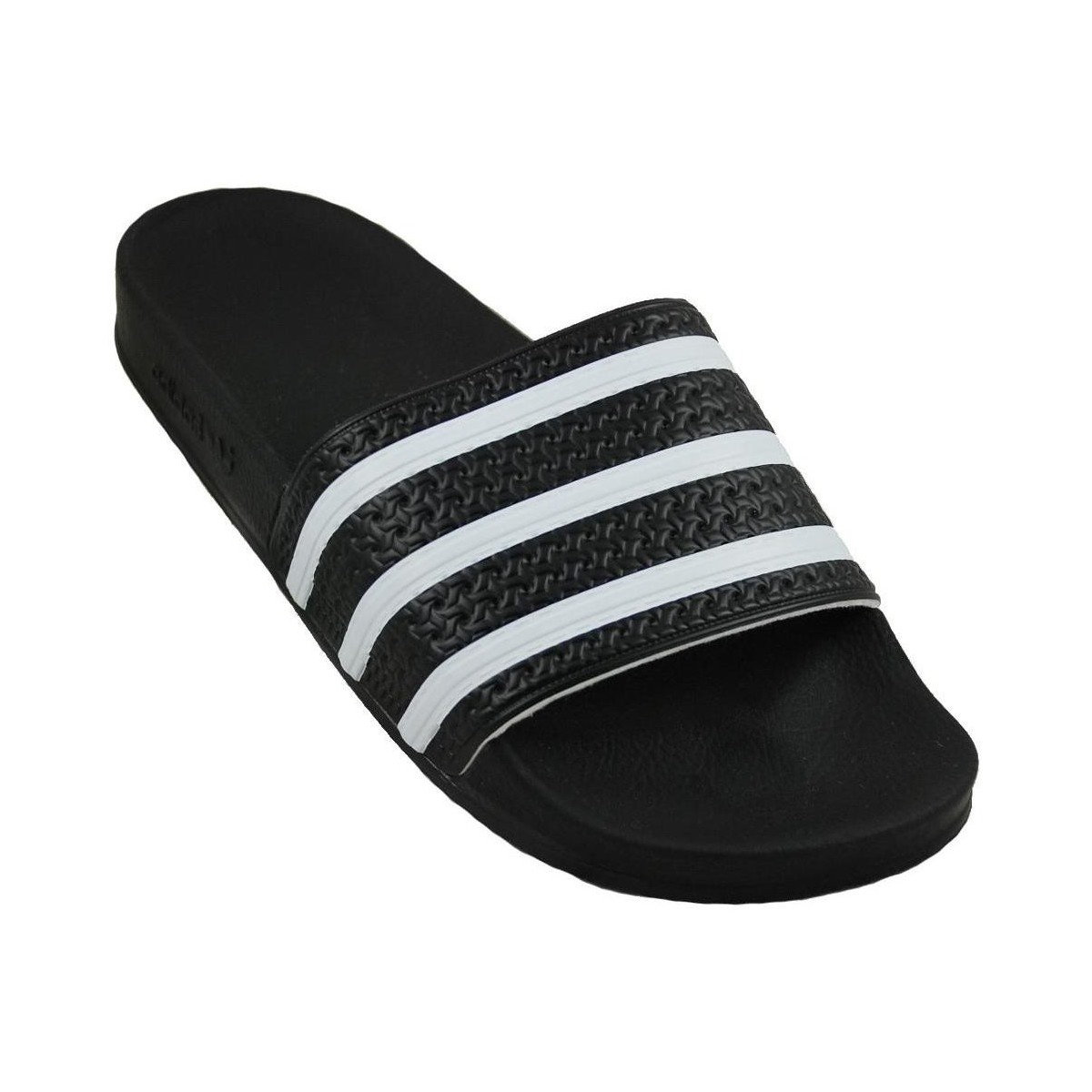 tongs adidas originals adilette noir chaussures homme 44. Black Bedroom Furniture Sets. Home Design Ideas