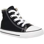 Baskets mode Converse Chuck Taylor All Star Hi toile Enfant Noir