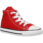 Baskets mode Converse Chuck Taylor All Star Hi toile Enfant Rouge