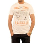T-shirts manches courtes Wrangler T-Shirt  History