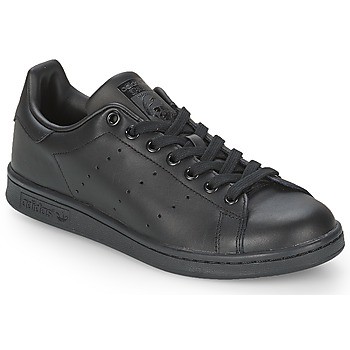 baskets basses adidas originals stan smith noir livraison gratuite avec. Black Bedroom Furniture Sets. Home Design Ideas