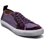 Baskets basses People'Swalk Fly suede skin Violet