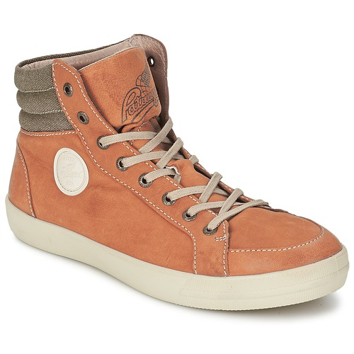Chaussures Homme Baskets montantes Pataugas CLEFT H Camel