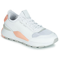 Chaussures Femme Baskets basses Puma WN RS-0 SOUND.WH-PEACH Blanc / Gris / Rose