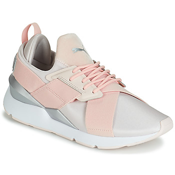 best sneakers 7497a 94058 Chaussures Femme Baskets basses Puma WN MUSE SATIN II.PEARL Pêche