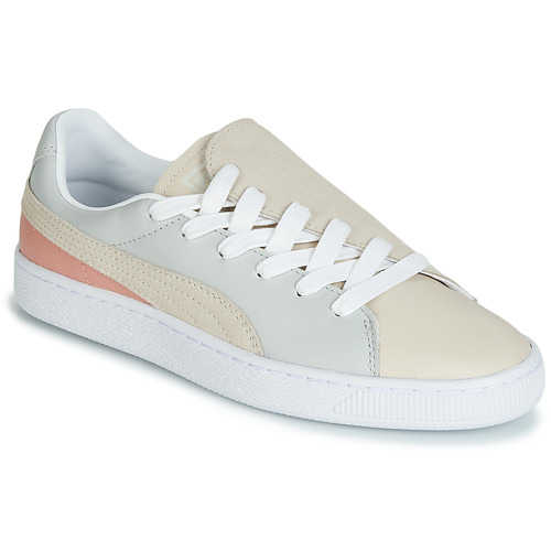Baskets Basses Paris gray Beige Basket Chaussures Wn Femme Puma Crush 54jARL