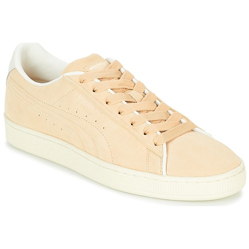Chaussures Baskets basses Puma SUEDE RAISED FS.NA V-WHIS Beige