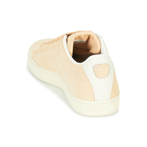 Basses na Puma V Baskets Raised Fs whis Beige Chaussures Suede H2W9IED