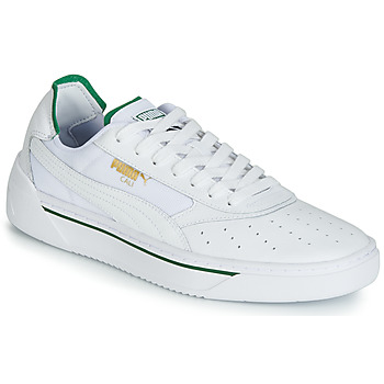 d142cc4e7d Chaussures Homme Baskets basses Puma CALI.WH-AMAZON GREEN-WH Blanc / Vert