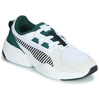 Chaussures Homme Baskets basses Puma ZETA SUEDE.WHITE-PONDEROSA Blanc