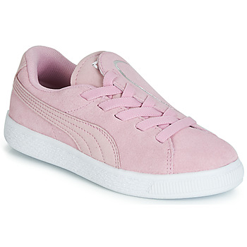 4e792078e2d55 Chaussures Fille Baskets basses Puma PS SUEDE CRUSH AC.LILAC Lila