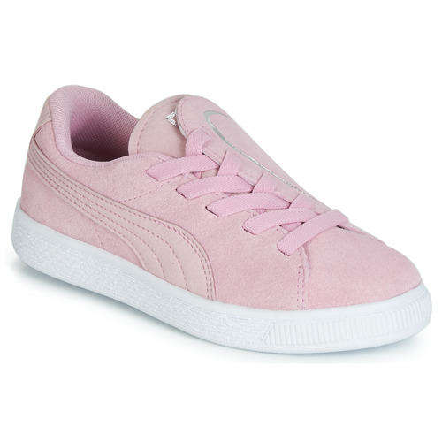 Chaussures Fille Baskets basses Puma PS SUEDE CRUSH AC.LILAC Lila