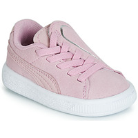 Chaussures Fille Baskets basses Puma INF SUEDE CRUSH AC.LILAC Lila