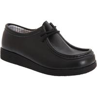 Chaussures Garçon Derbies Route 21  Noir