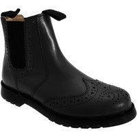 Chaussures Homme Boots Grafters Brogue Noir