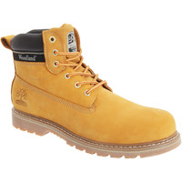 Chaussures Homme Boots Woodland Padded Miel