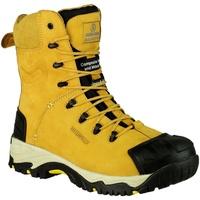Chaussures Homme Chaussures de sécurité Amblers FS998 Safety Zips Jaune