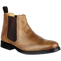 Chaussures Homme Boots Cotswold Slip On Fauve