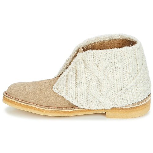 Sand Clarks Combi Chaussures Boots Desert Boot Femme HYbe92WEDI