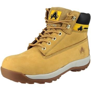 Chaussures Femme Boots Amblers FS102 Safety Beige foncé
