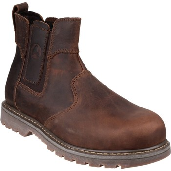 Chaussures Femme Boots Amblers  Marron
