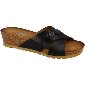 Chaussures Femme Mules Down To Earth  Noir