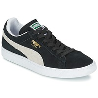 Chaussures Baskets basses Puma SUEDE CLASSIC + Noir / Blanc