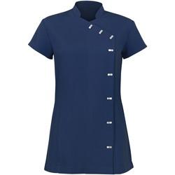 Vêtements Femme Robes courtes Alexandra AX003 Bleu marine