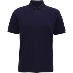 Vêtements Homme Polos manches courtes Asquith & Fox AQ005 Bleu marine