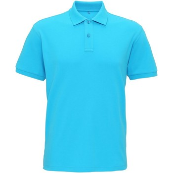 Vêtements Homme Polos manches courtes Asquith & Fox AQ005 Turquoise