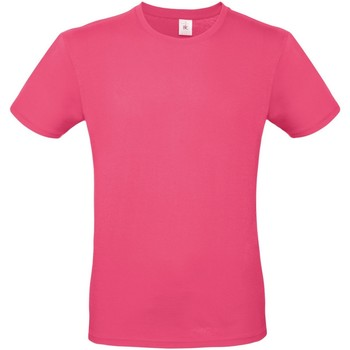 Vêtements Homme T-shirts manches courtes B And C E150 Fuchsia