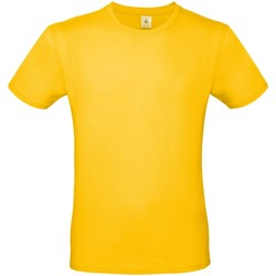 Vêtements Homme T-shirts manches courtes B And C TU01T Jaune foncé